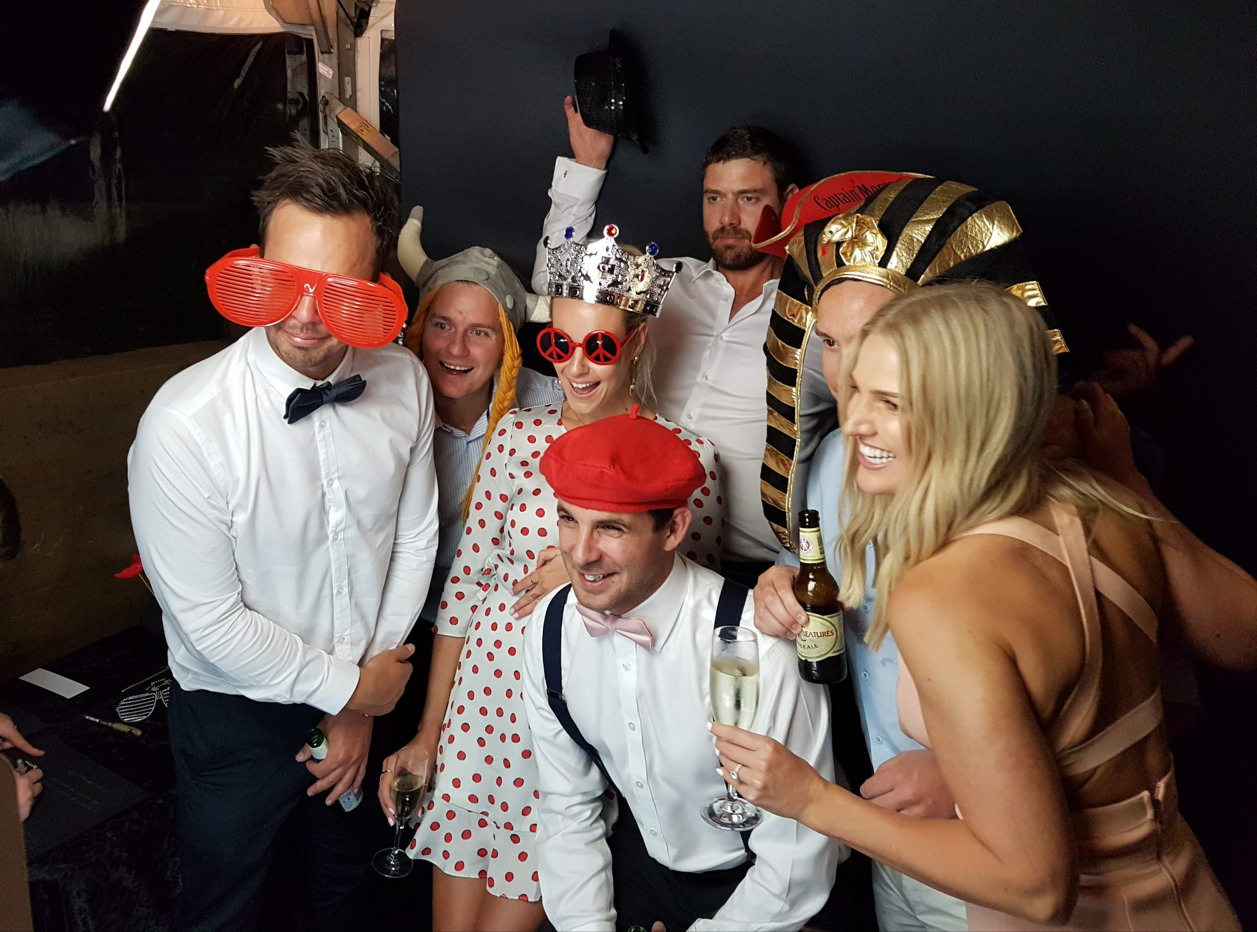 Open or Enclosed Photo Booth
