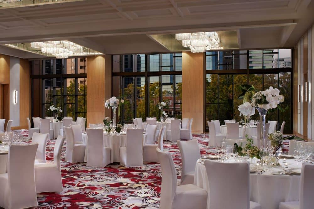 The Ritz-Carlton may be known as a luxury hotel but it is also a wedding venue with plenty of event spaces.